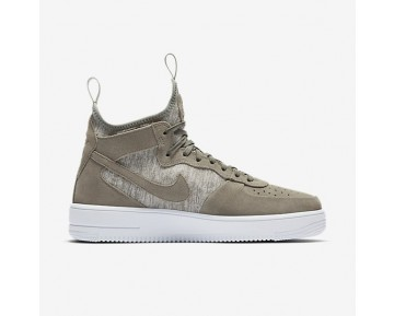 Nike Air Force 1 Ultraforce Mid Premium Herren Schuhe Dunkler Stuck/Weiß/Dunkler Stuck 921126-002