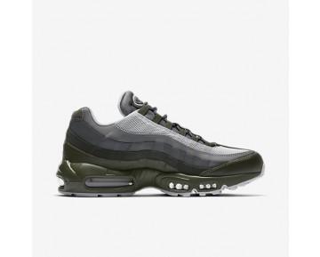 Nike Air Max 95 Essential Herren Schuhe Cargo Khaki/Deep Pewter/Dunkelgrau/Reines Platin 749766-302