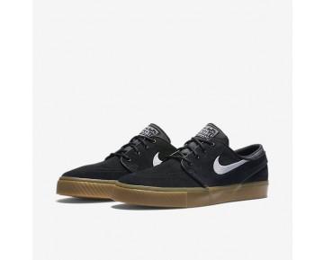 Nike Sb Zoom Stefan Janoski Herren Skateboard Schuhe Schwarz/Gummi hellbraun/Weiß 333824-021
