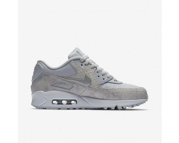 Nike Air Max 90 Premium Damen Schuhe Reines Platin/Weiß/Metallic Silber/Reines Platin 896497-004