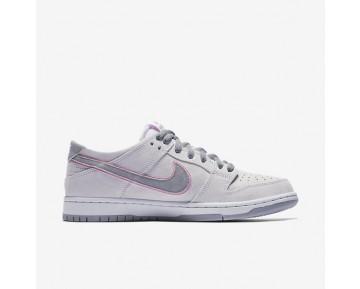 Nike SB Dunk Low Pro Ishod Wair Herren Skateboard Schuhe Weiß/Flat Silber/Perfect Rosa 895969-160