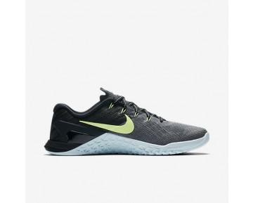 Nike Metcon 3 Damen Trainingsschuhe Dunkelgrau/Glacier Blau/Schwarz/Ghost Grün 849807-003