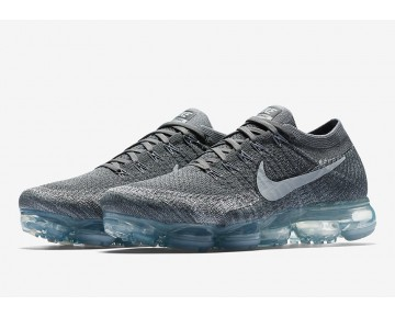 Nike Herren VaporMax Dunkelgrau/Schwarz/Wolf grau-Reines Platin 849558-002