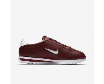 Nike Cortez Basic Jewel Herren Schuhe Dunkel Team Rot/Weiß 833238-600