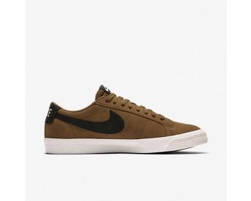 Nike SB Blazer Low Herren Skateboard Schuhe Golden Beige/Sail/Gummi hellbraun/Schwarz 864347-201
