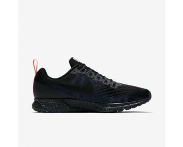 Nike Air Zoom Pegasus 34 Shield Herren Laufschuhe Schwarz/Obsidian/Schwarz 907327-001