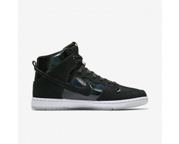 Nike SB Dunk High Pro Herren Skateboard Schuhe Schwarz/Weiß/Clear/Schwarz 854851-001