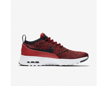 Nike Air Max Thea Ultra Flyknit Damen Schuhe University Rot/Weiß 881175-601