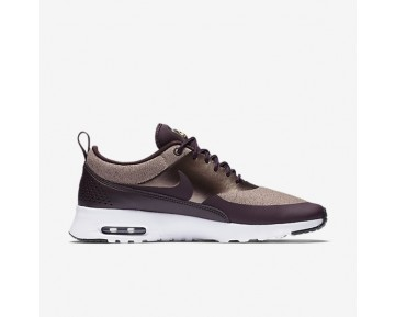 Nike Air Max Thea Knit Damen Schuhe Port Wine/Particle Rosa/Schwarz/Metallic Mahogany AA1109-600