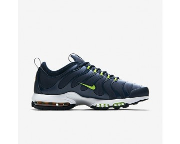 Nike Air Max Plus TN Ultra Herren Schuhe Blau Grau/Armoury Navy/Weiß/Electric Grün 898015-400