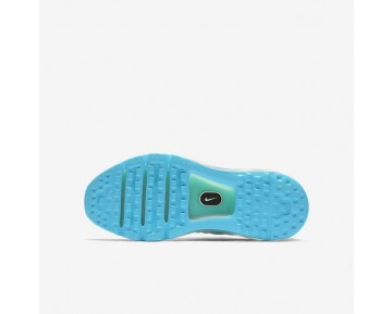 Nike Air Max 2017 Damen Laufschuhe Chlorine Blau/Hyper Turquoise/Reines Platin/Weiß 851623-402