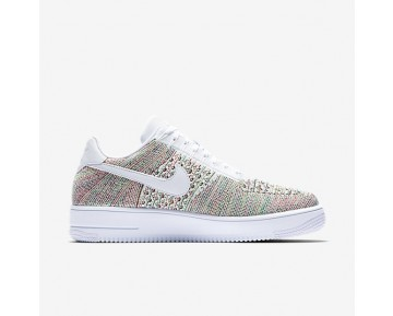Nike Air Force 1 Flyknit Low Herren Schuhe Multicolor/Weiß 817419-701