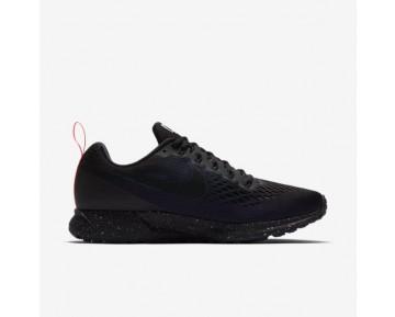 Nike Air Zoom Pegasus 34 Shield Damen Laufschuhe Schwarz/Obsidian/Schwarz 907328-001