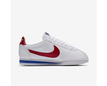 Nike Classic Cortez Damen Schuhe Weiß/Varsity Royal/Varsity Rot 807471-103