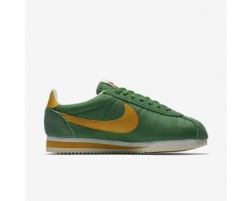 Nike Classic Cortez Nylon Premium Damen Schuhe Classic Grün/Sail/Gelb Ochre 882258-301