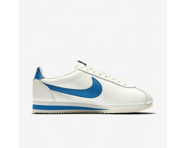 Nike Classic Cortez Leather SE Herren Schuhe Sail/Blau Jay 861535-102