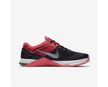 Nike Metcon Dsx Flyknit Damen Trainingsschuhe Schwarz/Rosa/Weiß/Kaltes Grau 849809-009