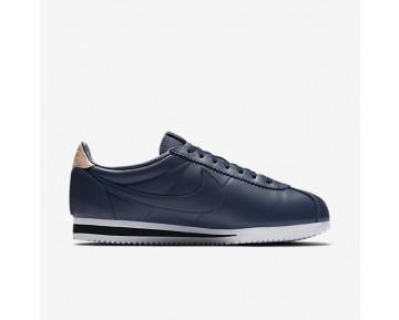 Nike Classic Cortez Leather SE Herren Schuhe Midnight Navy/Schwarz/Vachetta Tan 861535-400