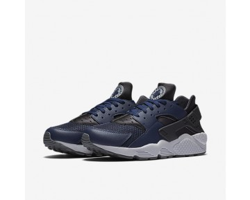 Nike Air Huarache Herren Schuhe Midnight Navy/Dunkel Ash/Kaltes Grau 318429-409