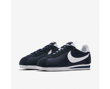 Nike Classic Cortez Nylon Unisex Schuhe Obsidian/Weiß 807472-410