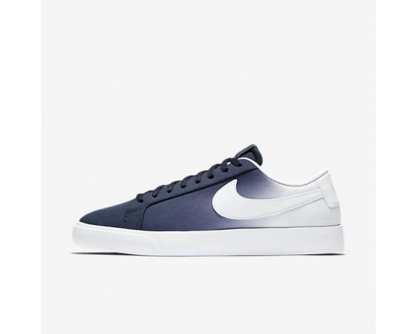 Nike SB Blazer Vapor Textile Herren Skateboard Schuhe Obsidian/Weiß 902663-411