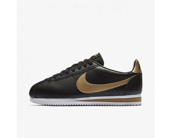 Nike Classic Cortez Damen Schuhe Schwarz/Metallic Gold 807471-008
