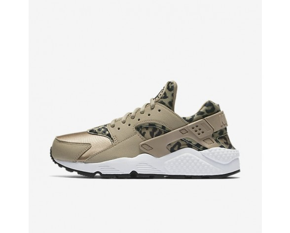 Nike Air Huarache Print Damen Schuhe Khaki/Weiß/Schwarz 725076-200