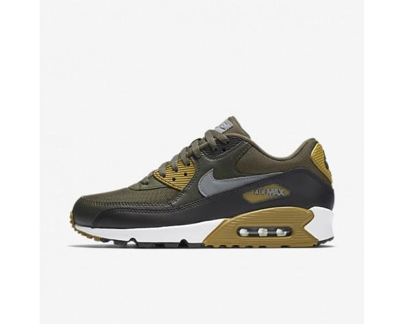 Nike Air Max 90 Essential Herren Schuhe Cargo Khaki/Schwarz/Sequoia/Kaltes Grau 537384-307