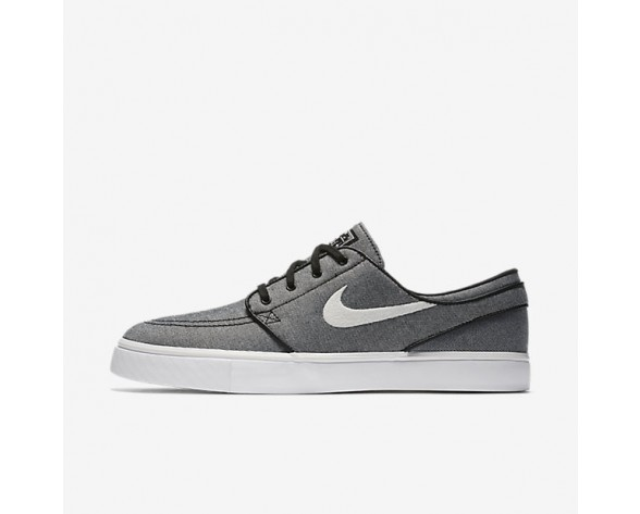Nike SB Zoom Stefan Janoski Canvas Herren Skateboard Schuhe Schwarz/Sail 615957-015