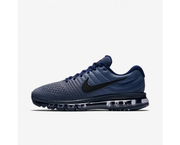 Nike Air Max 2017 Herren Laufschuhe Binary Blau/Obsidian/Schwarz 849559-405