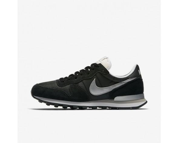 Nike Internationalist Herren Schwarz/Weiß/Flat Silber/Metallic Silber 828041-003