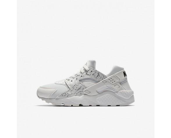 Nike Huarache SE Damen Schuhe Summit Weiß/Schwarz/Metallic Silber 904538-102