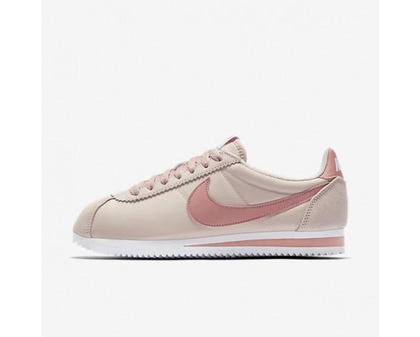 Nike Classic Cortez 15 Nylon Damen Schuhe Siltstone Rot/Weiß/Rot Stardust 749864-603