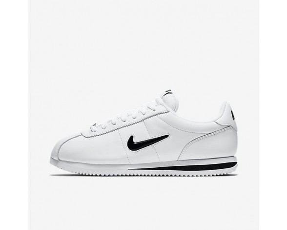 Nike Cortez Basic Jewel Qs Herren Schuhe Weiß/Schwarz 938343-101