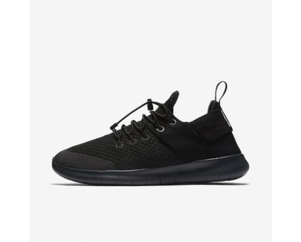 Nike Free RN Commuter 2017 Premium Damen Laufschuhe Schwarz/Dunkelgrau/Anthracite/Schwarz 880842-001