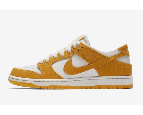 Nike SB Dunk Low Pro Herren Skateboard Schuhe Circuit Orange/Weiß 854866-881