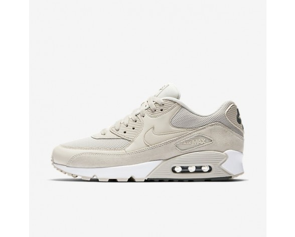 Nike Air Max 90 Essential Herren Schuhe Light Orewood Braun/River Rock/Weiß 537384-132