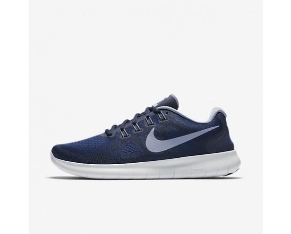 Nike Free RN 2017 Herren Laufschuhe Binary Blau/Obsidian/Gym Blau/Dunkel Sky Blau 880839-404