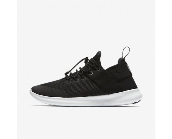 Nike Free RN Commuter 2017 Premium Damen Laufschuhe Schwarz/Anthracite/Off-Weiß/Schwarz 880842-003