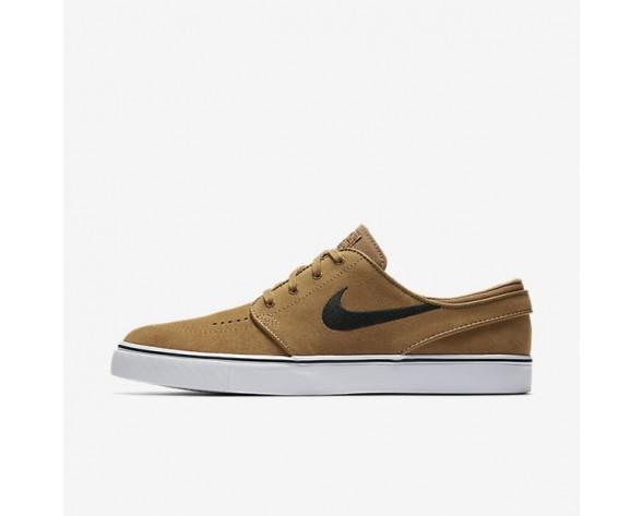 Nike SB Zoom Stefan Janoski Herren Skateboard Schuhe Golden Beige/Schwarz 333824-215