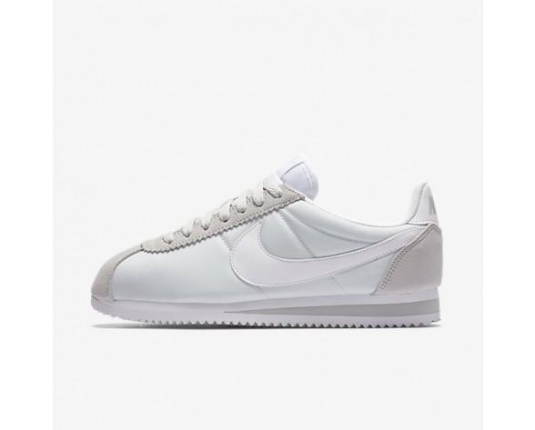 new product 2e72b d3305 Nike Classic Cortez 15 Nylon Damen Schuhe Reines PlatinWeiß 749864-010
