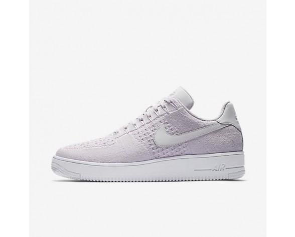 Nike Air Force 1 Flyknit Low Herren Schuhe Light Violet/Weiß/Light Violet 817419-500