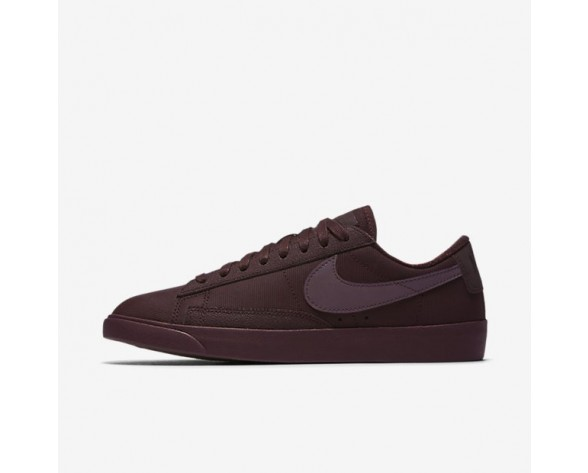 Nike Blazer Low Pinnacle Damen Schuhe Deep Burgundy/Gum Dunkel Braun AA3967-600
