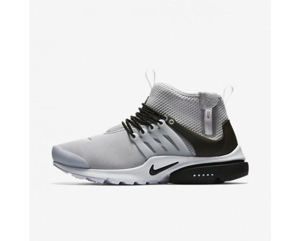 Nike Air Presto Mid Utility Herren Schuhe Wolf grau/Weiß/Schwarz 859524-005