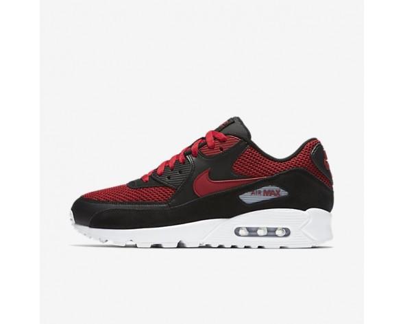 Nike Air Max 90 Essential Herren Schuhe Schwarz/Tough Rot/Wolf grau 537384-076