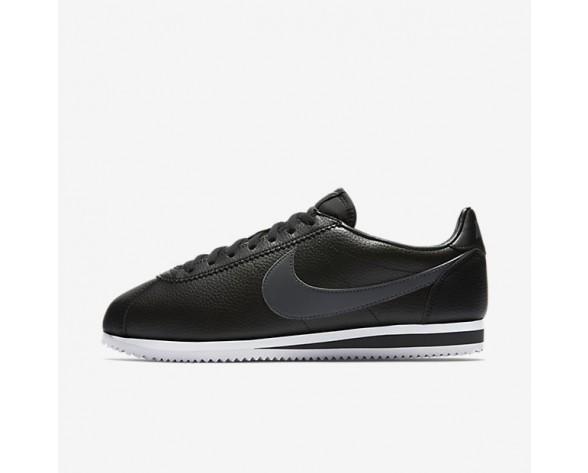 Nike Classic Cortez Leather Herren Schuhe Schwarz/Dunkelgrau/Weiß 749571-011