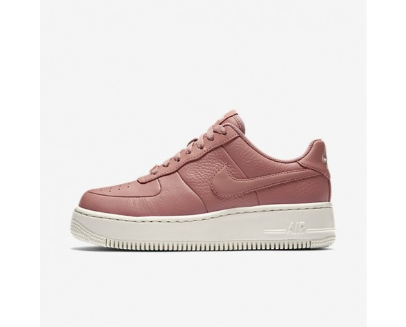 Nike Air Force 1 Upstep Low Damen Schuhe Rot Stardust/Siltstone Rot/Sail 917588-600