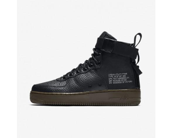 Nike SF Air Force 1 Mid Damen Schuhe Schwarz/Dunkel Hazel/Schwarz AA3966-003