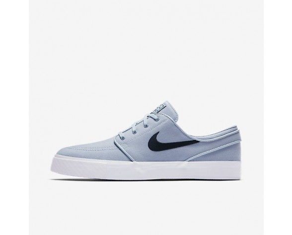 Nike SB Zoom Stefan Janoski Canvas Herren Skateboard Schuhe Light Waffenkammer Blau/Obsidian 615957-440