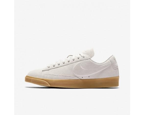 Nike Blazer Low Damen Schuhe Light Bone/Light Bone/Gummi hellbraun AA3962-001